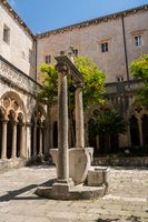 Franciscan Monastery and Museum in Dubrovnik old town