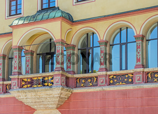 Ulm, Balkon Schwörhaus