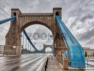 Grunwald Bridge in Wroclaw. Poland.