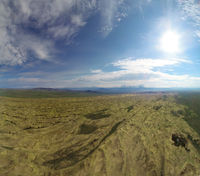 Sandy dune desert Altan Els. Mongolia.