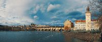 Cathedral of St. Vitus, Prague castle and the Vltava River