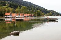 The Lake Alpsee 005. Germany
