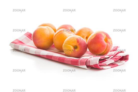 Sweet apricot fruits.
