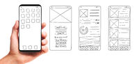 Developing mobile app UI