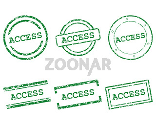 Access Stempel - Access stamps