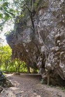 Rock climbing, Vang Vieng, Laos