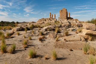 Ägyptischer Soleb Temple im Norden Sudans
