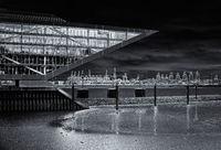 Dockland Hamburg B/W
