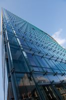 glass office building in the Brussels