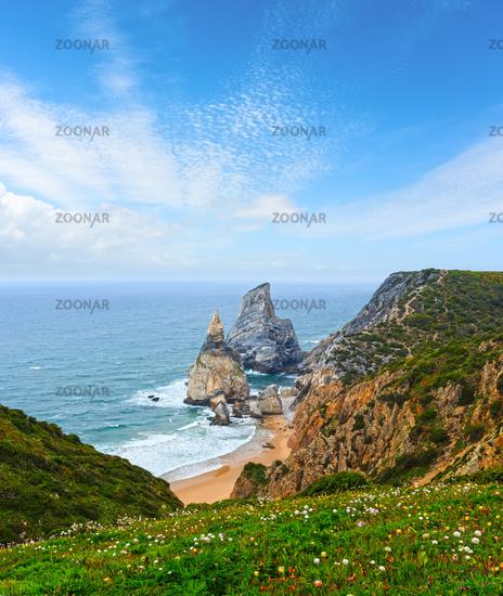 Cape Roca Atlantic coast, Portugal