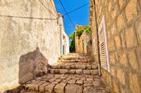 Old stone narrow street of Cavtat