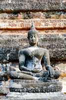 buddha statue in ayutthaya thailand, digital photo picture as a background