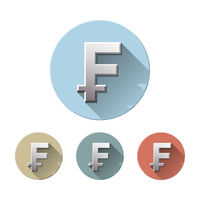 Swiss Franc currency symbol