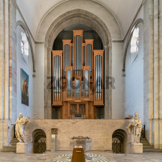 Organ, Church St. Aposteln, Cologne, Germany