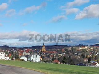 Kleinstadt in Sachsen