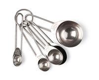 Steel measuring spoons