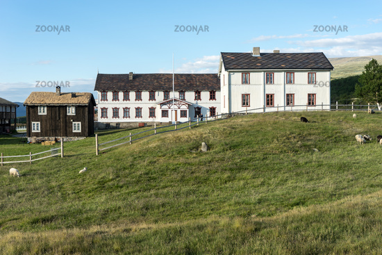 Farmers House in the National Parc Dovrefjell, Norway