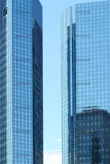 Deutsche Bank skyscraper Frankfurt