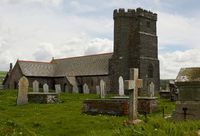 St Materiana's Church - Tintagel - Cornwall - UK