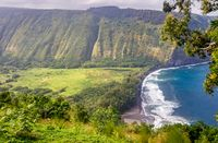 Waipio Valley Lookout, Big Island, Hawaii