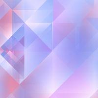 Soft Purple - Blue Geometric Background