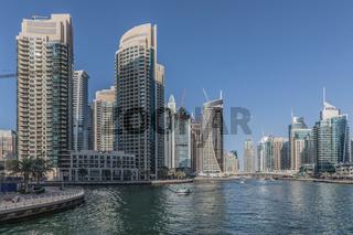 Dubai Marina, Bootsfahrt