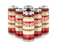 Group of beer cans