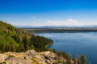 Jenny Lake, rand Teton National Park, Wyoming, USA.
