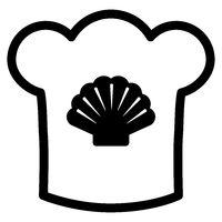 Muschel und Kochhaube - Shell and chef hat
