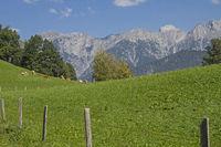 View of the Berchtesgaden Alps