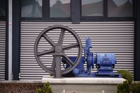 Pump with gear