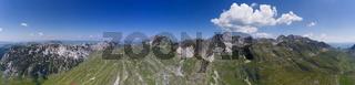 Bobotov Kuk and mountains in Durmitor