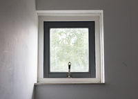 Small open window