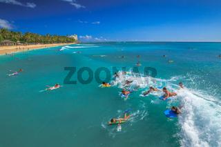 Water sports in Hawaii