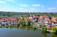 Bad Waldsee from above