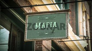 Street Sign to Mafia
