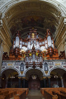 Inside the Berliner Dom, biggist church of Berlin, Germany