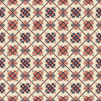 Palestinian embroidery pattern 31
