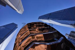 The Vessel in den Hudson Yards in New York City