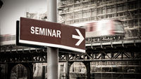 Street Sign to Seminar
