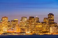 San Francisco downtown skyline