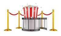 Film and popcorn