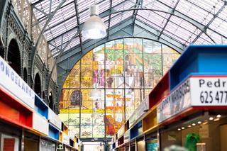 Atarazanas Market Building in Malaga, Spain