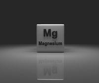 Cube with Magnesium periodic system