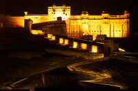 Amber Fort in the night