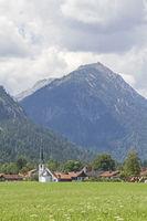 Graswang in Oberbayern