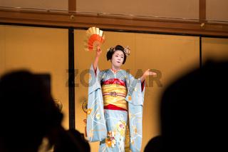 Geisha Show in Kyoto, Japan