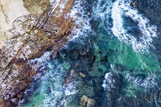 Cronulla Sea Coast aerial views Australia