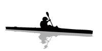 Kayak athlete