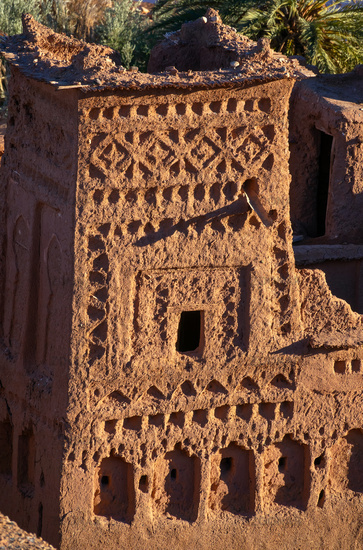 Tower of Kasbah Ait Ben Haddou